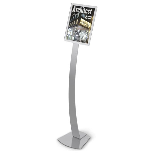 Deflect-o Corporation Oversize Contemporary Floor Sign Stand