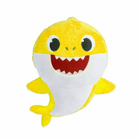 Baby Shark Plush Toy Singing English Official Song Cartoon Music Doll Gift