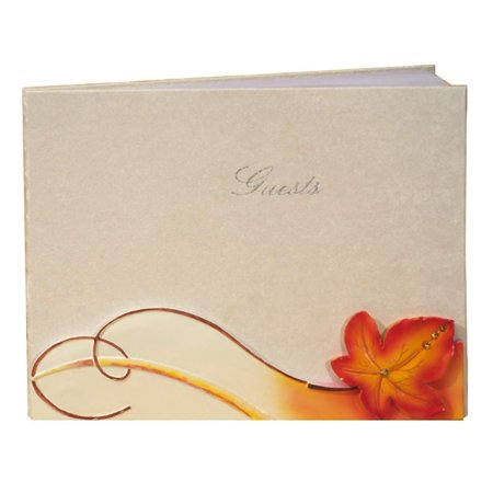 Fall / Autumn Themed Wedding Guest Book, Each guest bookWalmartes individually gift boxed and measures 8 x 10. By FavorOnline - Fall Themed Wedding