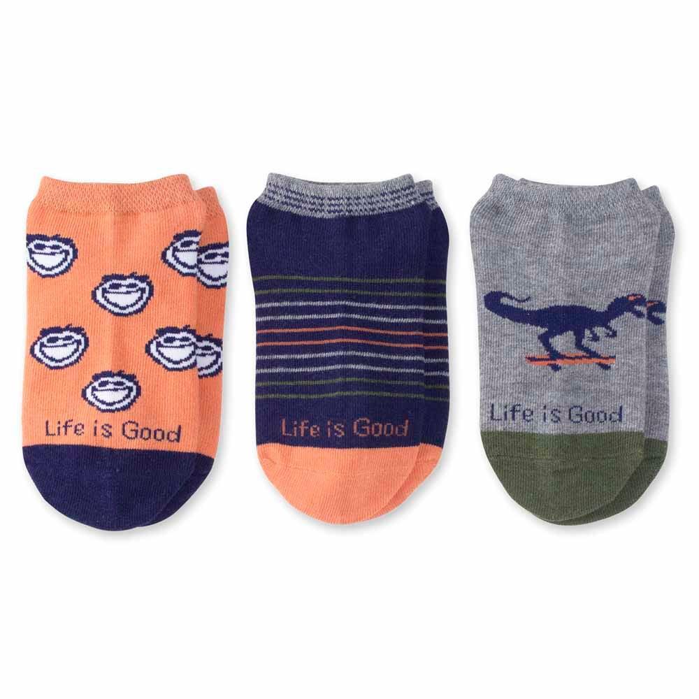 Life is Good Boys 3-Pack Low Cut Socks