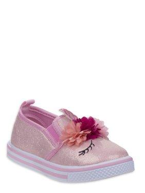 Laura Ashley Sleepy Unicorn Slip-on Shoe (Toddler Girls)