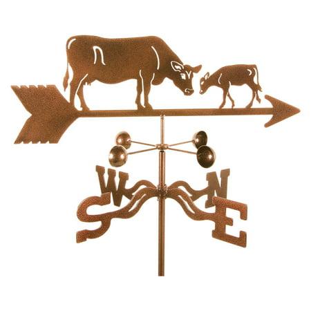 EZ Vane Cow with Calf Weathervane