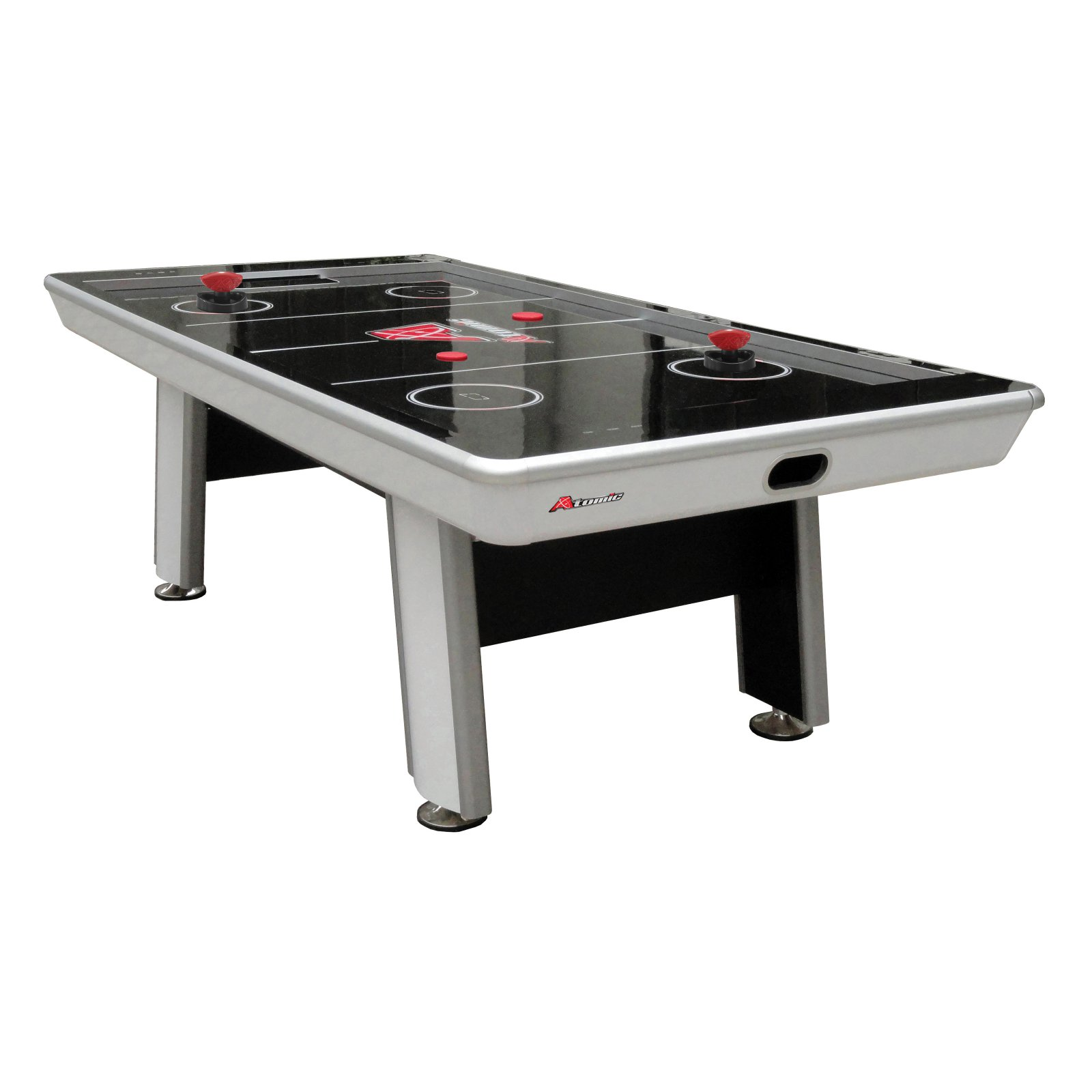 Atomic Avenger 8' Air Hockey Table with Electronic Scoring by Escalade Sports