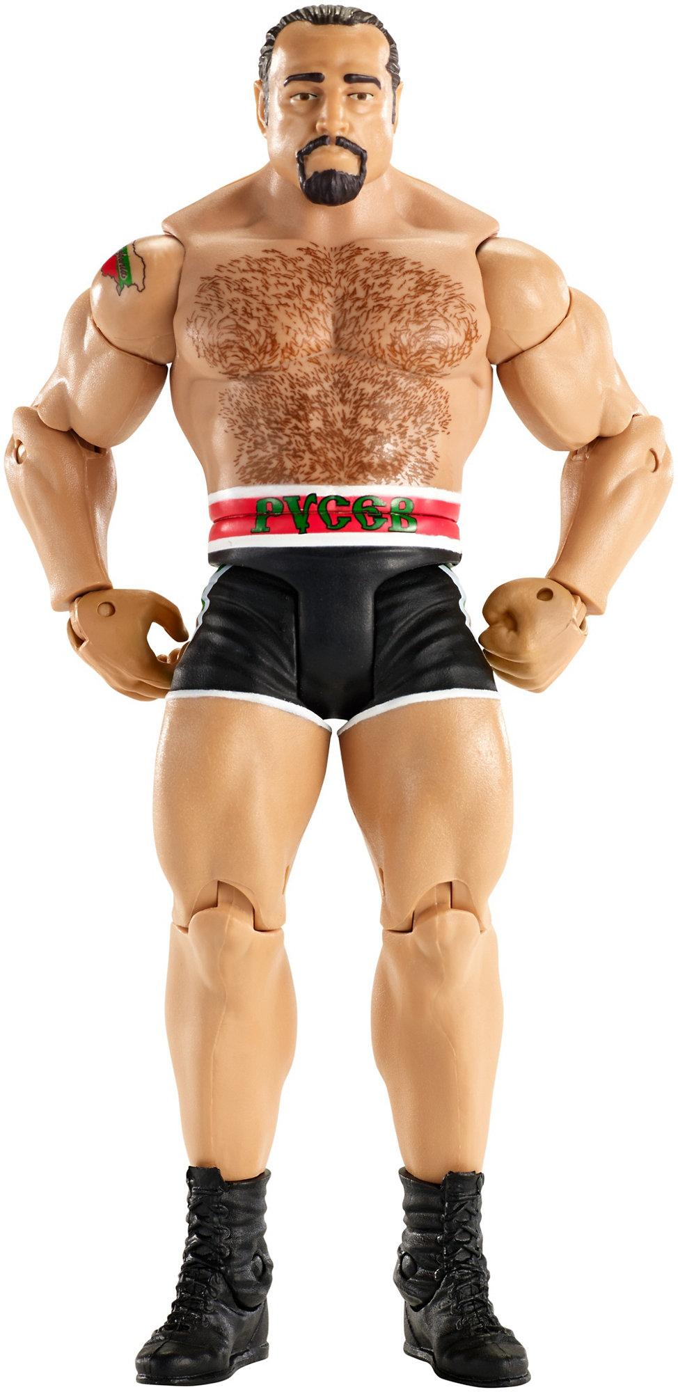 WWE Basic Rusev Figure by Mattel