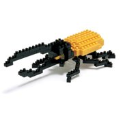 Hercules Beetle 110 Piece Nanoblock Puzzle,  Butterfly   Insects by Ohio Art Company