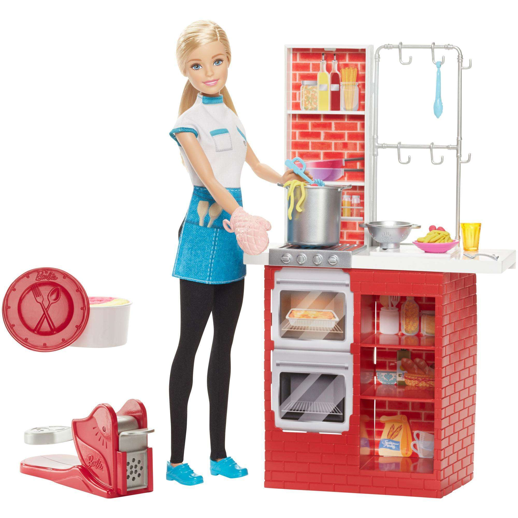 Barbie Spaghetti Chef Doll & Playset by MATTEL INC.