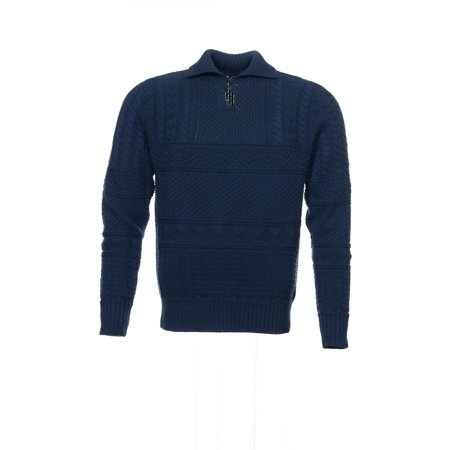Polo By Ralph Lauren Mens Blue Polo Sweaters