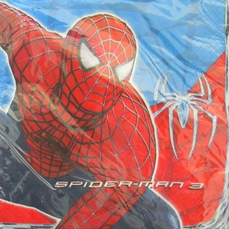 Spider-Man 3 Lunch Napkins (16ct) (Spider Man 3 Lunch Napkins)