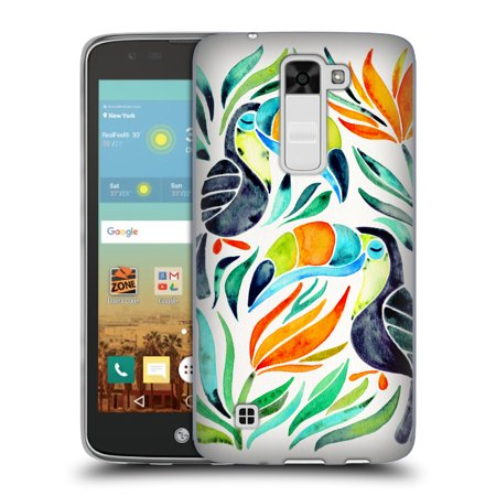 OFFICIAL CAT COQUILLETTE BIRDS SOFT GEL CASE FOR LG PHONES 2
