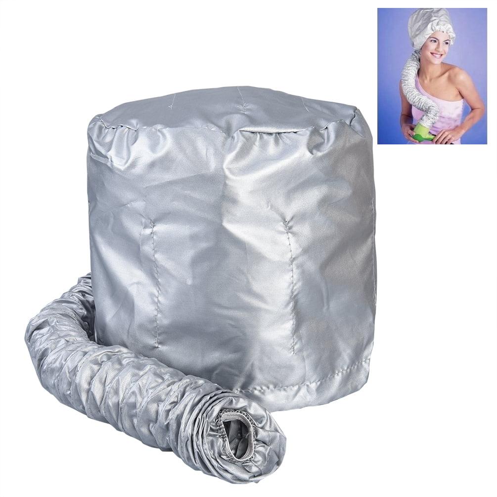 Pretty See Hair Dryer Bonnet Hair Styling Cap Soft Hair Dryer Attachment, Grey