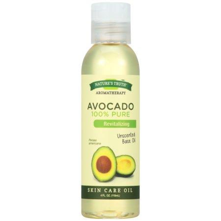 Nature's Truth Aromatherapy Avocado Skin Care Oil, Unscented, 4 Fl Oz