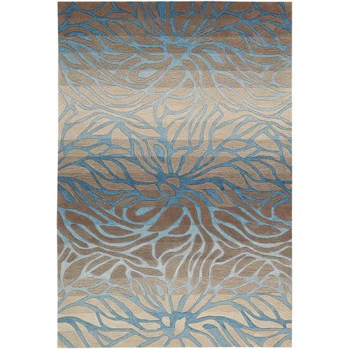 Nourison Contour CON25 Hand-Tufted Polyester Rectangle Rug