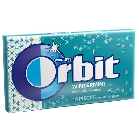 Orbit Wintermint Sugar Free Gum Single Pack - 14 Piece