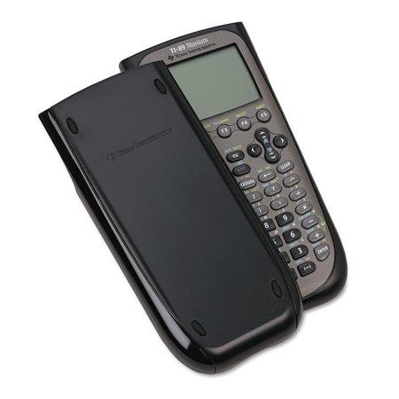 TI-89 Titanium Graphing Calculator, Black