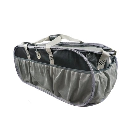 Gym Tote Bags (K-Cliffs Heavy Duty Trunk Organizer Large Pop-up Grocery Cargo Bag Tarpaulin Gym Duffel, Laundry Bag, Closet Bag Market Grocery Tote Bag Beach Picnic Bag Fit Truck SUV and Car,)