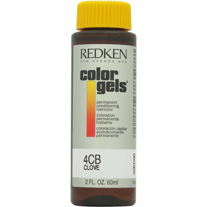 Redken Color Gels Permanent Conditioning Haircolor 4Cb - Clove, 2 Oz