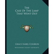 The Case of the Lamp That Went Out