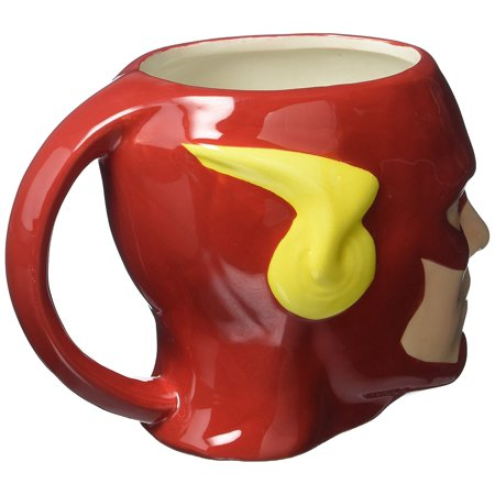 Jusf 8510 Justice League Comics Flash Ceramic Sculpted Mug