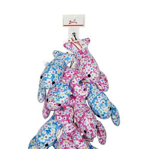 Zanies Lovely Lobster Dog Toys Clip Strip, 12pc