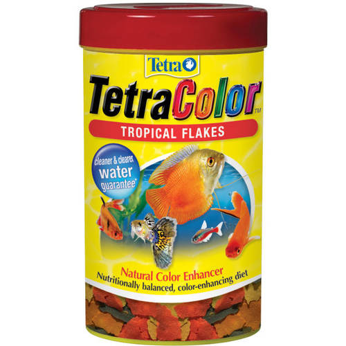 Tetra Color Flakes