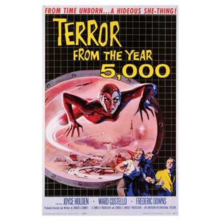Terror from the Year 5 000 Movie Poster (11 x - Halloween 30 Years Of Terror Poster