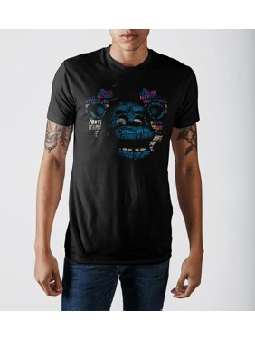 e32ef08a Product Image Five Nights at Freddy's Bonnie Posterize Print Men's Black T- shirt-Large