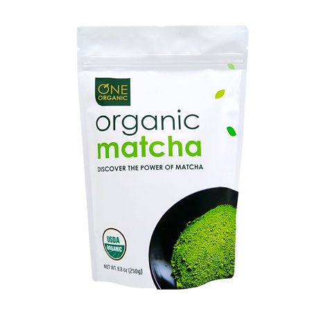 Powder Green Tea - One Organic Matcha Green Tea Powder, 8.8 Oz