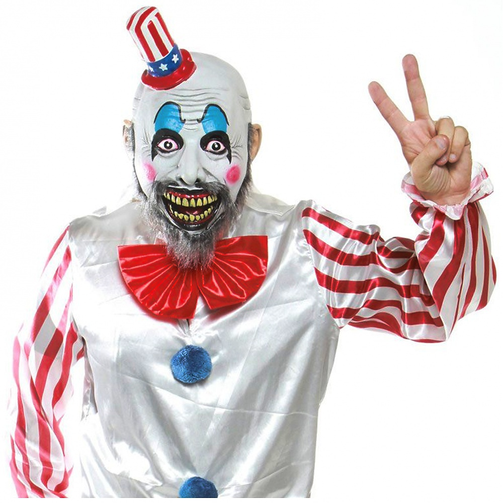 Morbid House Of 1000 Corpses Captain Spaulding Adult Latex Mask One-Size