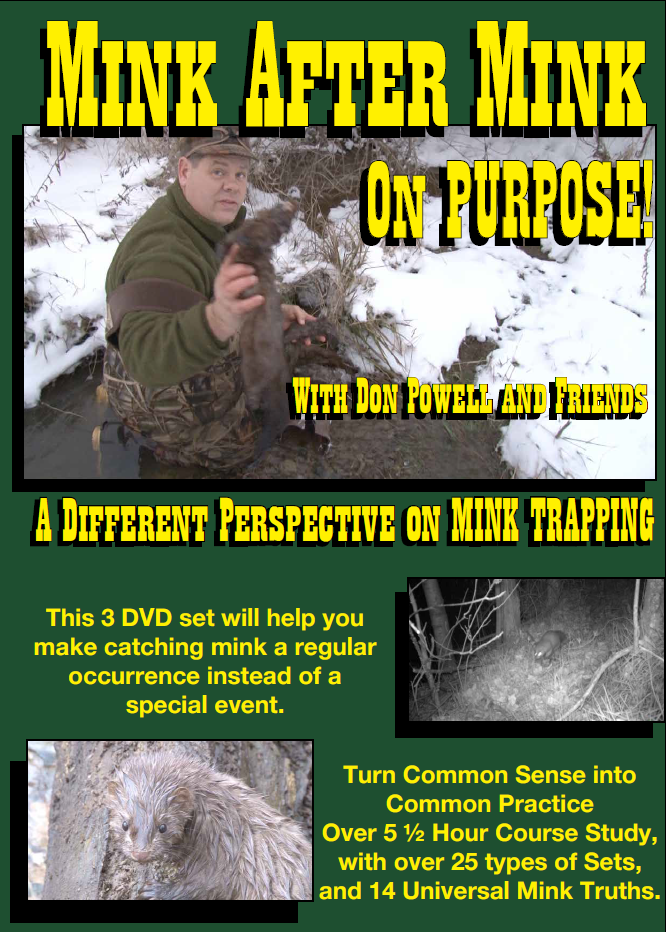Mink After Mink on Purpose by Don Powell (DVD) by