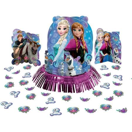 Disney Frozen Magic Table Decorating Kit (Disney Frozen Birthday Decorations)
