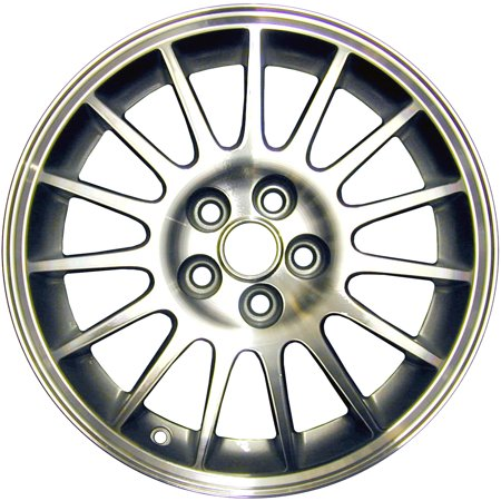 2004-2006 Chrysler Sebring  16x6.5 Alloy Wheel, Rim Sparkle Silver Painted with Machined Face 2228 44mm - Silver Face