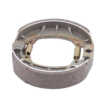 Metal Spring Loaded Electric Motorcycle Rear Brake Shoe Drum Pad for