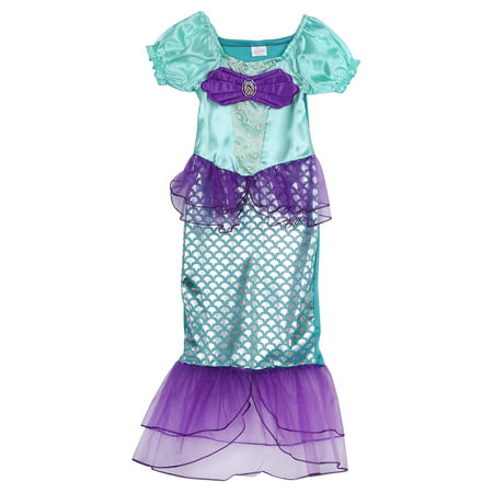 Toddler Girls Mermaid Costume Princess Ariel Generic Dress For Girls Party](Ariel Girl Costume)