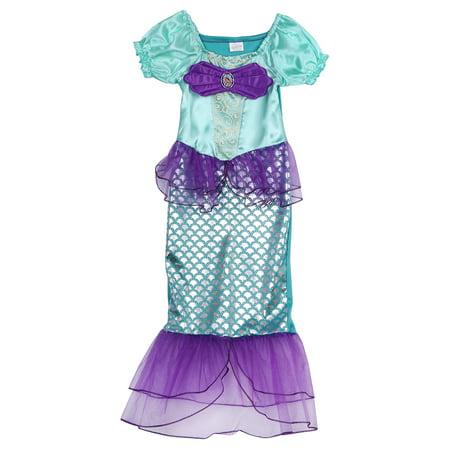 Princess Ariel Adult Costume (Toddler Girls Mermaid Costume Princess Ariel Generic Dress For Girls)