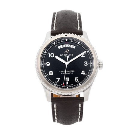 Pre-Owned Breitling Navitimer Aviator 8 Day-Date A45330101/B1X2 Watch (Majority of Time Remaining on Factory Warranty)