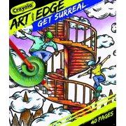 Crayola Art With Edge 40 Page Get Surreal Coloring Book