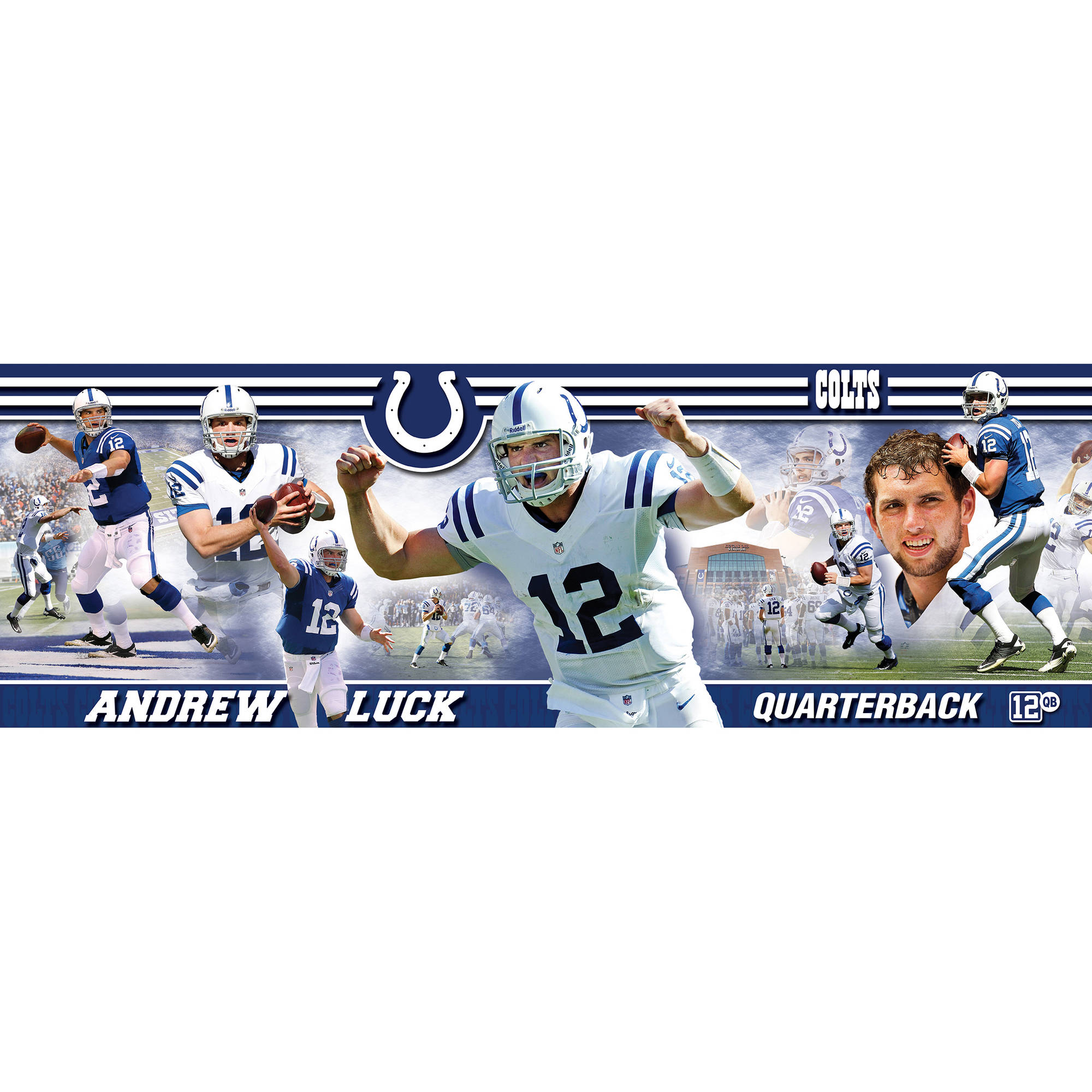 Masterpieces Andrew Luck Indianapolis Colts 750-Piece Panoramic Puzzle