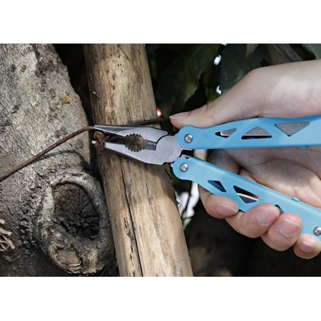 Ozark Trail 12-in-1 Multi-Tool, Blue