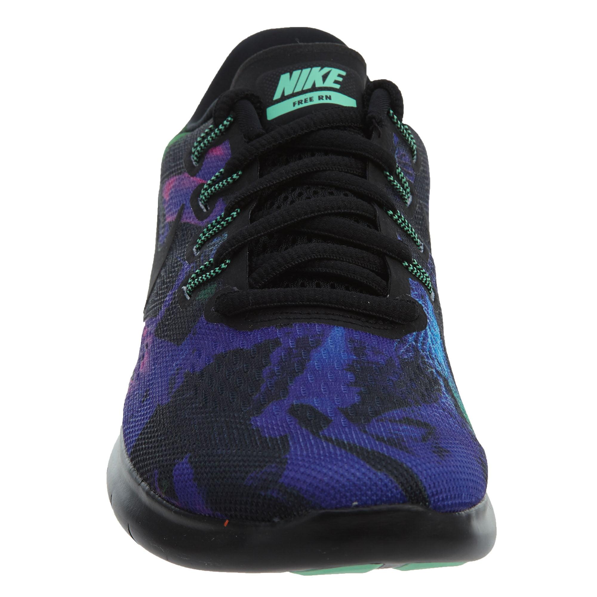 Más Mierda Rebobinar  Nike - Nike Women's Free RN 2017 Solstice Running Shoes (Black/Green, 8.0)  - Walmart.com - Walmart.com