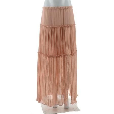 f3f1a822ad G.I.L.I. - GILI Petite Woven Maxi Skirt A302678 - Walmart.com
