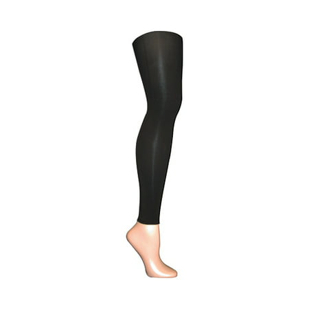 Footless Tights For Women (Women's Microfiber Footless Tights 22568 (2 Pairs))
