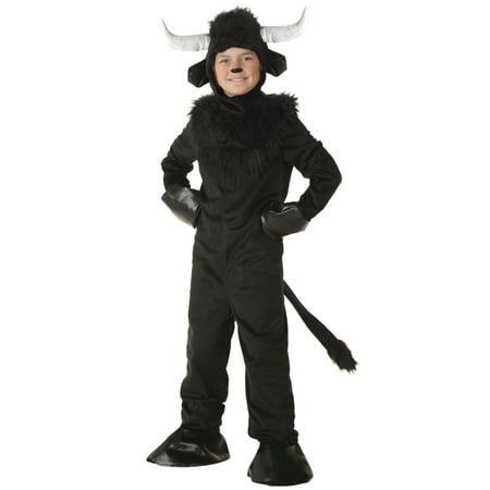 Child Bull Costume - Bull Horns Costume