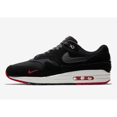 e471d7173b Nike - Mens Nike Air Max 1 Premium Bred Black Oil Grey University ...
