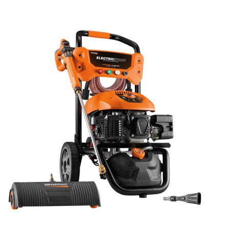Generac 3100 PSI 2.5 GPM Electric Start Residential Pressure Washer Kit ()