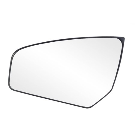 88234 - Fit System Driver Side Non-heated Mirror Glass w/ backing plate, Nissan Sentra 07-12, 4 3/ 4