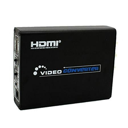 Hosim 1080P Hdmi To Composite   Av S Video Converter Rca Cvbs L R Video Converter Adapter Pal   Ntsc Cvbs   S Video Switch High Definition Multimedia Interface 1080P For Ps3 Dvd Camara