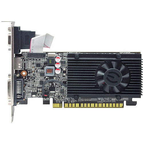 EVGA GeForce GT 610 1GB DDR3 PCI Express 2.0 Graphics Card