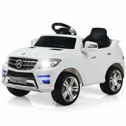 Best USA Kids Electric Cars - Costway Mercedes Benz ML350 6V Electric Kids Ride Review