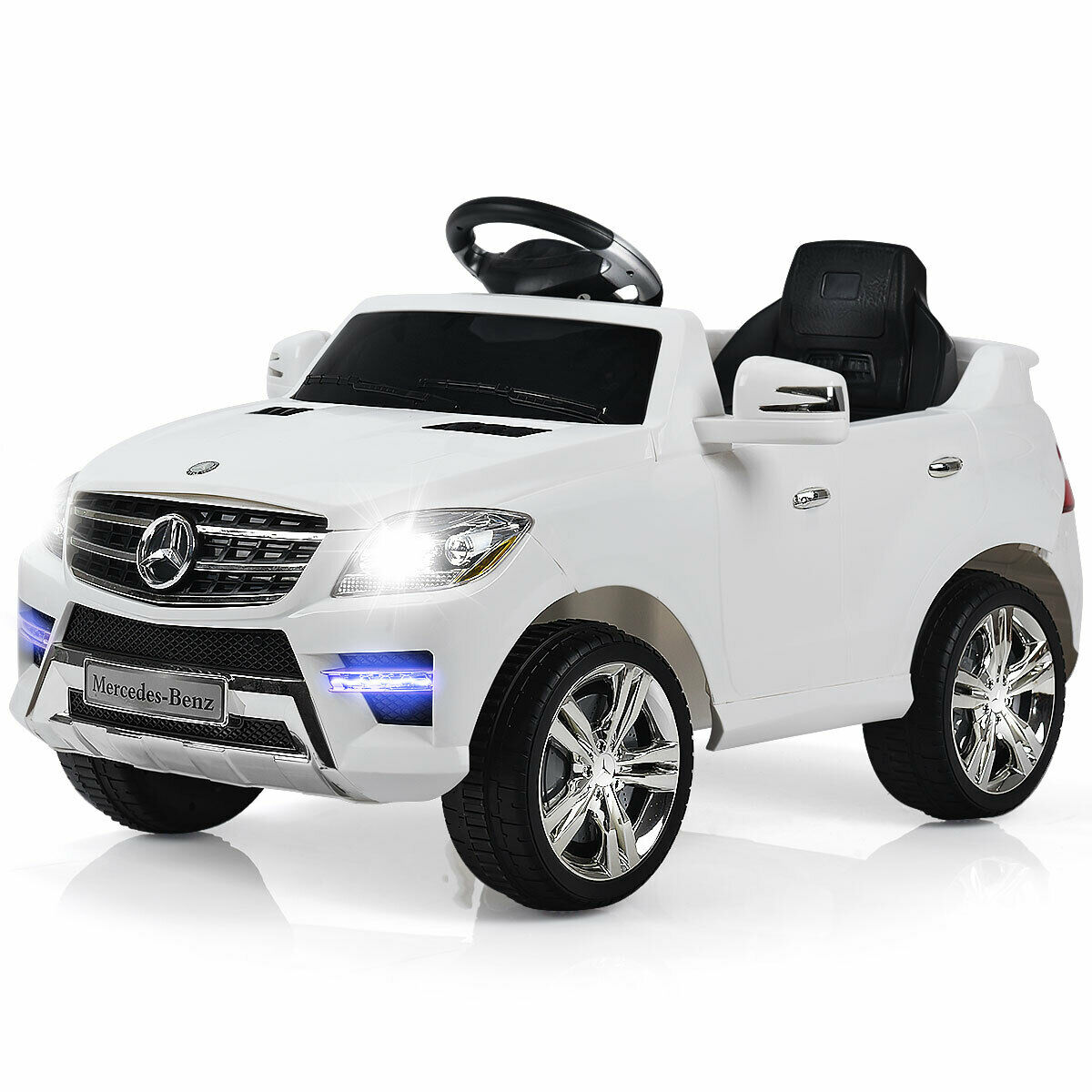 Costway Mercedes Benz ML350 6V Electric Kids Ride On Car Licensed MP3...