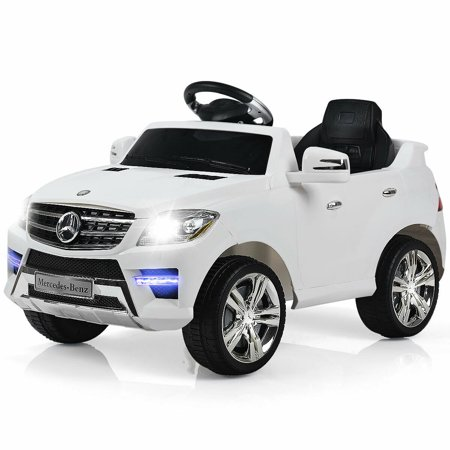 Costway Mercedes Benz ML350 6V Electric Kids Ride On Car Licensed MP3 RC Remote